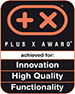Plus X Award Best Product of the Year 2013